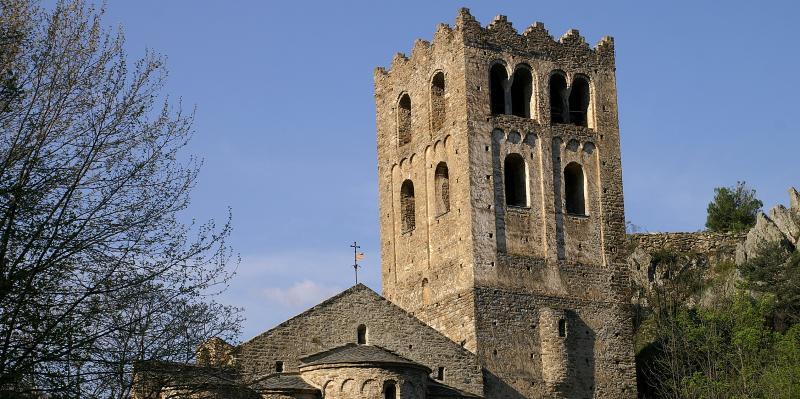 Clocher de l'abbaye © C. Queval