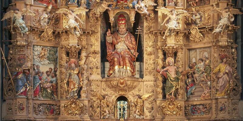 Visite de l'église de Prades ©A-M. Brun
