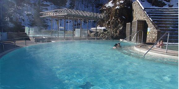Les bains chauds de Saint-Thomas